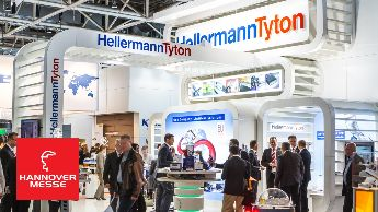 Hannover Messe 2015 #HM15 HellermannTyton Messevideo